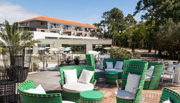 Hotel les bains d Arguin Spa by Thalazur - terrace