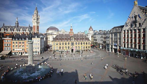 Alojamiento en la Grand'Place de Lille