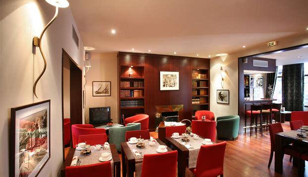 Hotel Roosevelt - breakfast