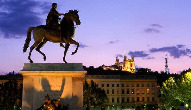 Escapade en plein coeur de Lyon ( à partir de 2 nuits)