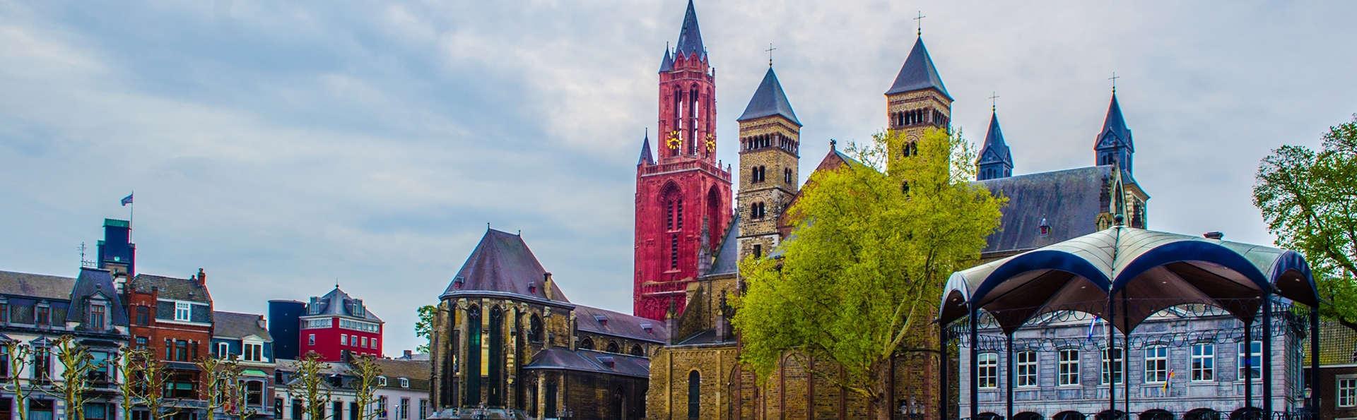 Séjournez dans une chambre confortable à Geleen et visitez la place Vrijthof à Maastricht