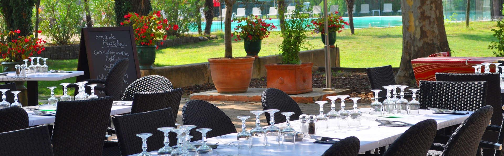 Dîner et détente avec accès privatif au spa près de Montélimar