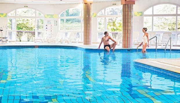 Dîner et soin du corps avec accès au spa près du lac du Bourget, à Aix-les-Bains
