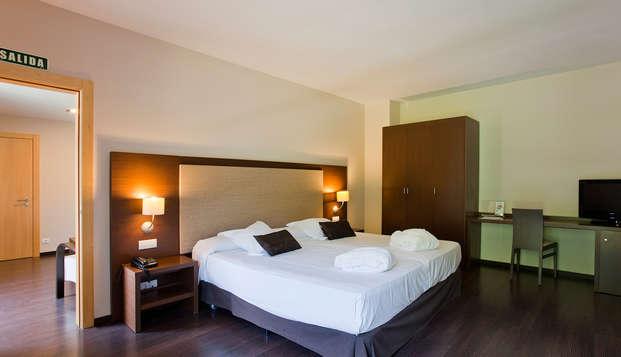 Escapada Relax en Suite con circuito termal de aguas mineromedicinales y botella de cava