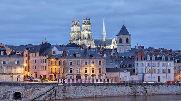 Week-end détente en bord de Loire au cœur d' Orléans (2 nuits minimum)