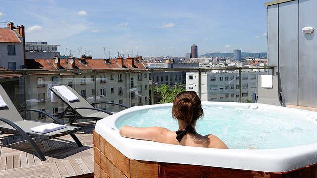 Week-end avec vue imprenable sur la ville, en plein coeur de Lyon