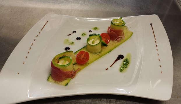 Cocina local con toques catalanes en Mont-Louis