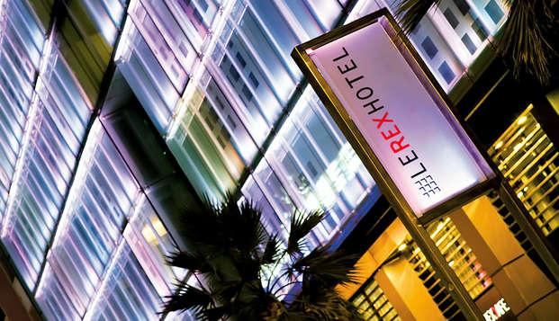 Oferta especial: Escapada con cena en un hotel de diseño en el corazón de Tarbes
