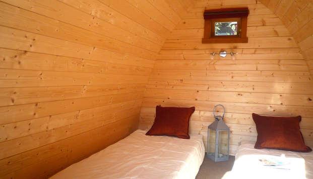 Escapada relax e insólita en una cabaña POD a 45 minutos de París