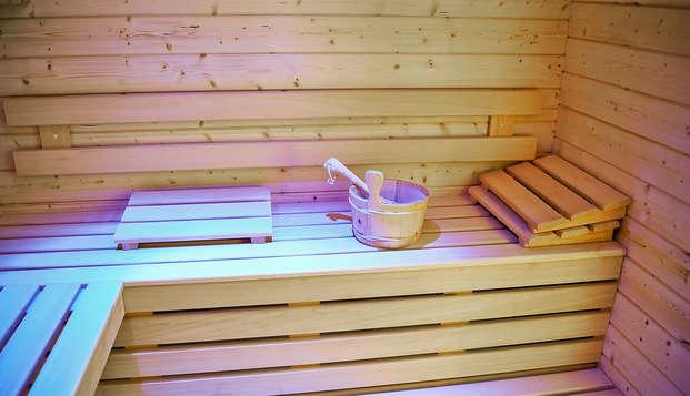 Les Jardins d Hardelot - sauna