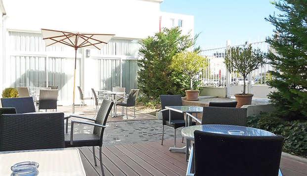 Mercure Troyes Centre - terrace