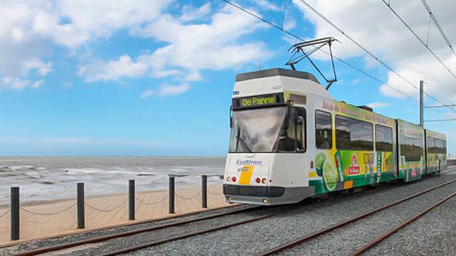 1 Ticket de tram pour 2 adultes