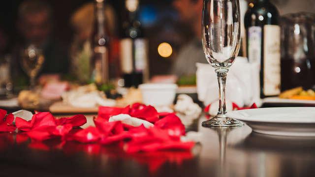 Détente et romantisme avec champagne dans un hotel 4*