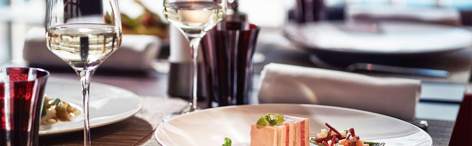 Week-end détente avec dîner gourmet au cœur de Paris