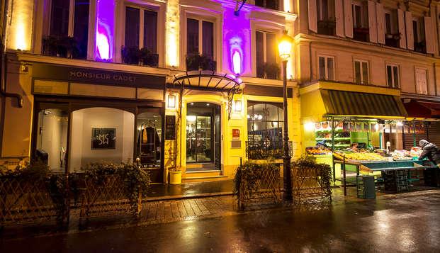 Détente à Paris dans un hôtel de charme
