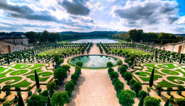 Partez à la découverte du Château de Versailles lors d'un week-end aux portes de Paris (Pass 1 jour)
