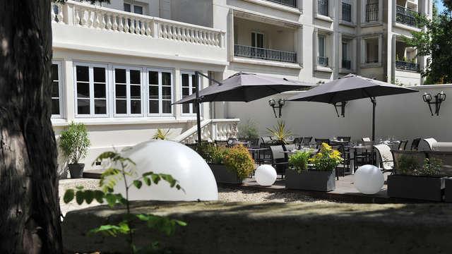 Hotel de encanto a las puertas de París