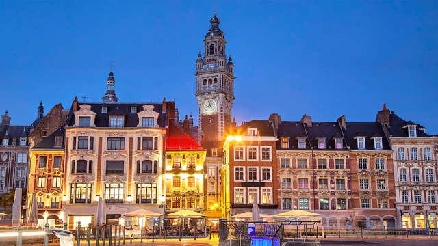 Cena a las puertas de Lille