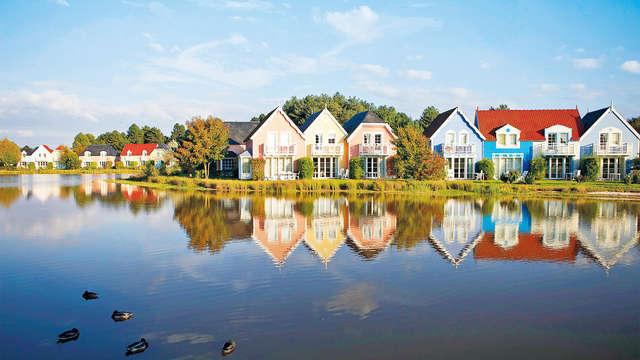 Weekendhuis voor 6 personen in een 'ecodorp' in de baai van de Somme