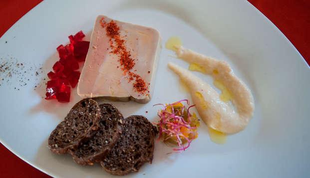 Romanticismo y cena gastronómica cerca de La Roche-Posay