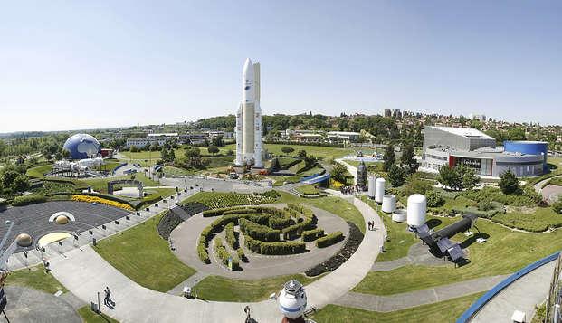Week-end à la découverte de Toulouse avec billets pour la Cité de L'Espace