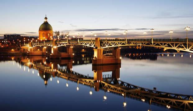 Ambiance de Noël, gourmandise et séjour surclassé à Toulouse