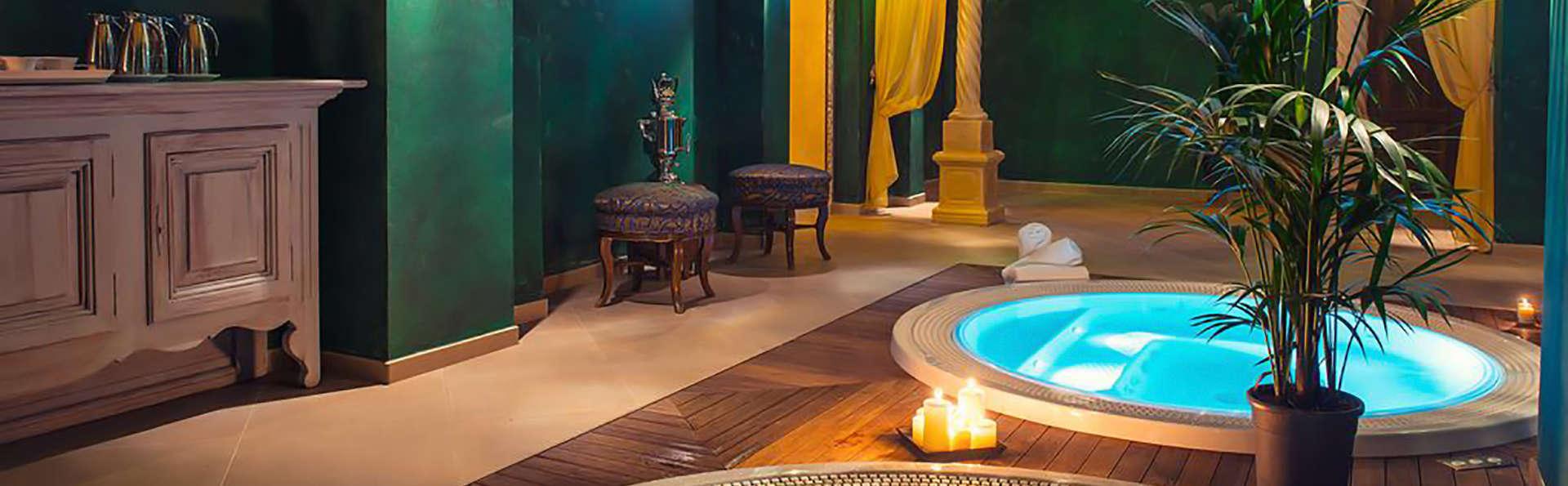 Romantisme, luxe et gastronomie avec accès au spa