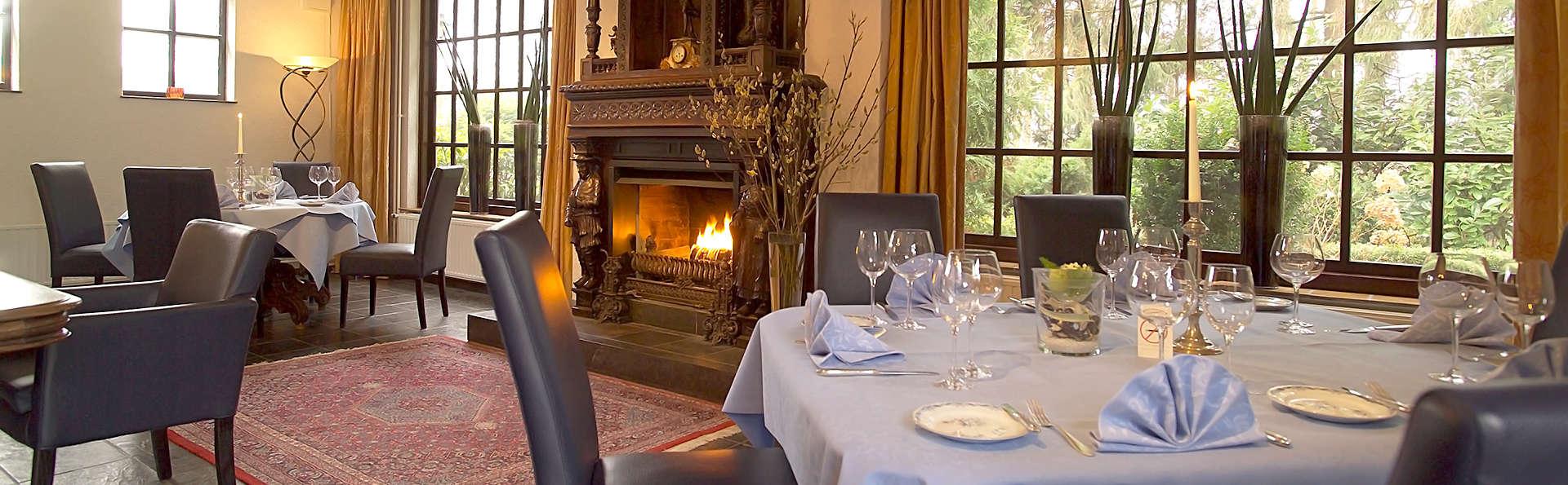 Profitez de la détente, de l'hospitalité et d'un délicieux dîner