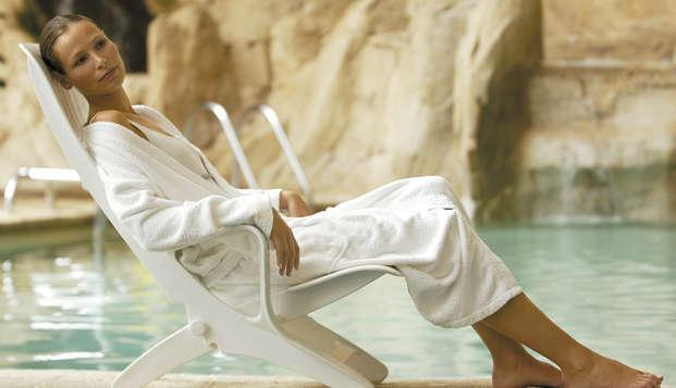 Masajes, Acceso al Spa, Media Pensión y mucho más para unas mini-vacaciones relax en Aragón