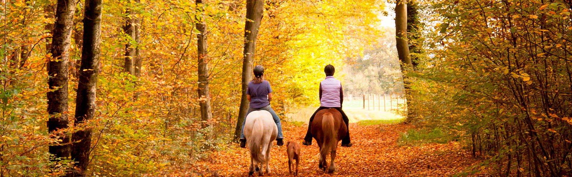 Week-end en famille avec balade à cheval et fondue dans les Ardennes (4 personnes incluses)