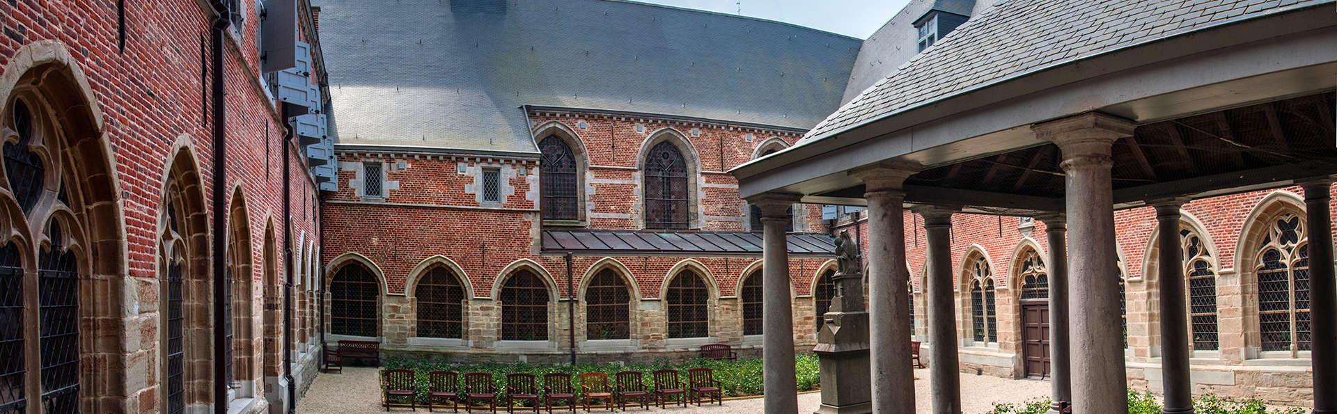 Week-end avec visite de l'Hôpital Notre Dame à la Rose près de Lessines