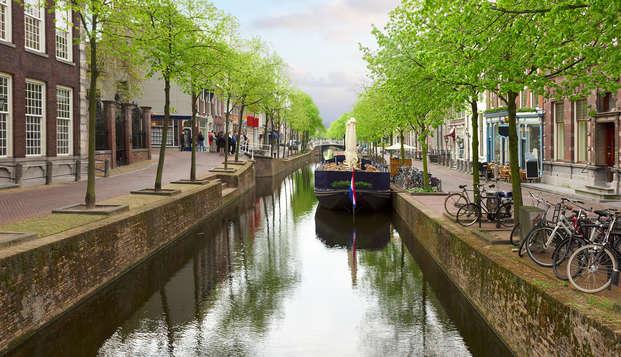 Weekendje weg aan de grachten van Delft