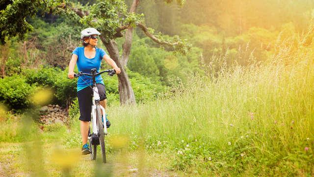 1 Huur van fiets voor 2 volwassenen (dag 1 en dag 2)