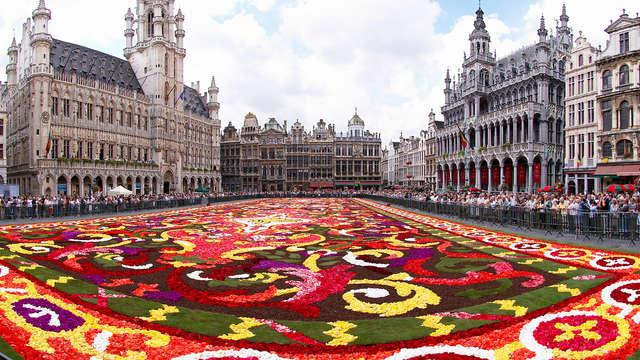 Scopri Bruxelles e rilassati in una camera comfort