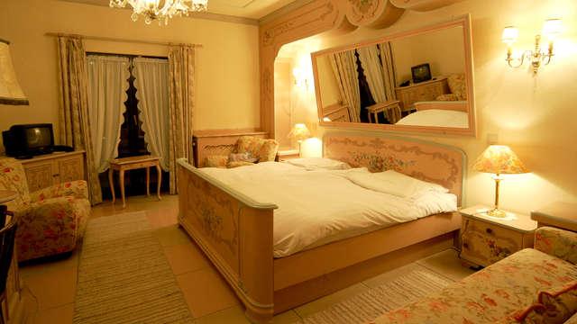 Halfpension in een suite met bubbelbad (vanaf 2 nachten)