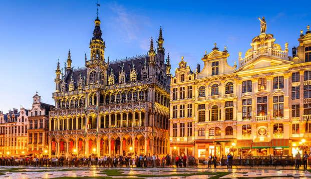 Verken Brussel in een uniek designhotel (vanaf 2 nachten)