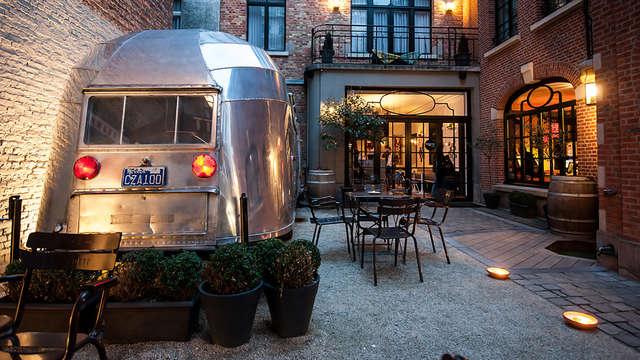 Camping con un toque de glamour en Bruselas
