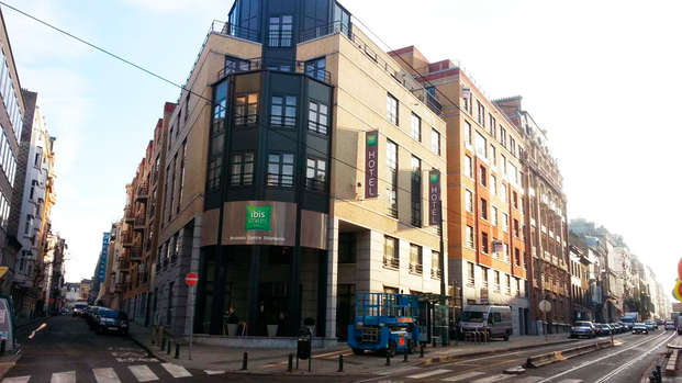ibis Styles Brussels Centre Stephanie - front