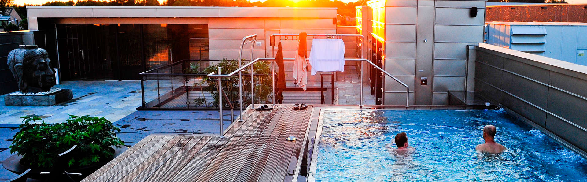 Détendez-vous au Wellness et séjournez dans un bel hôtel à Maaseik
