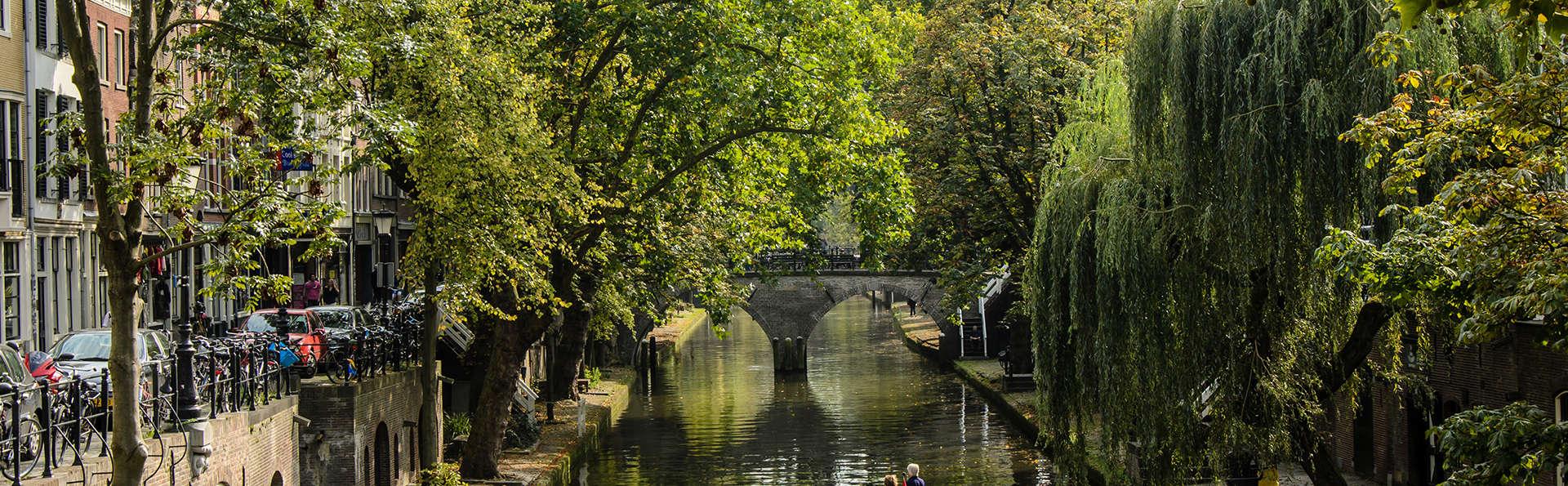 Découvrez la ville historique d'Utrecht sur l'eau