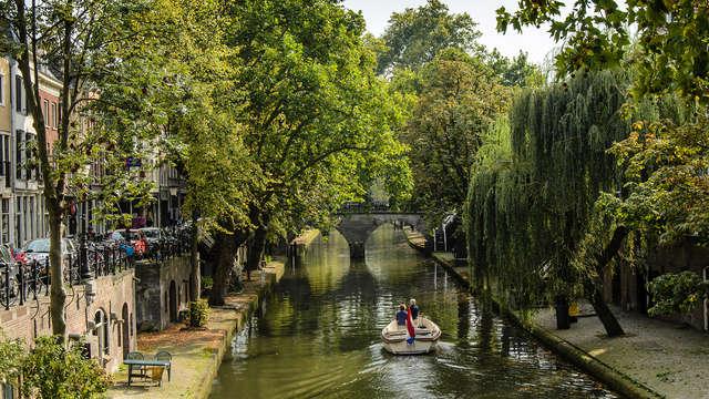 Ontdek de historische binnenstad van Utrecht vanaf het water