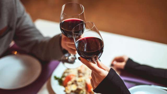 Cena romántica 3 platos en el restaurante Ñam de Paseo Sarasate