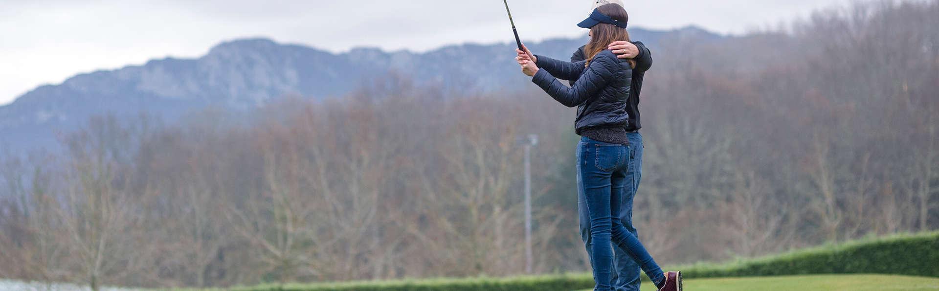 Golf Amateur : baptême à Izki Golf et Suite à Vitoria