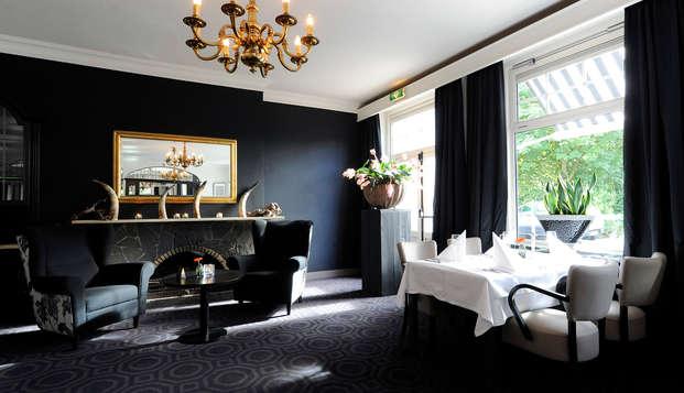 Heerlijk tafelen inclusief wijnen en een glaasje bubbels in de omgeving van Nijmegen