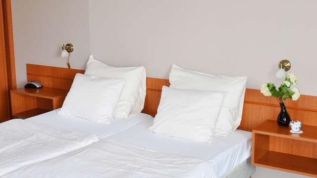 1 overnachting in een standaard twin kamer voor 2 volwassenen