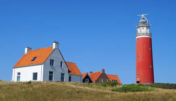 Week-end à vélo avec dîner à la mer à Den Burg (à partir de 2 nuits)
