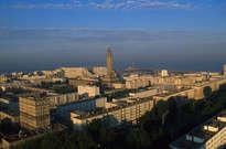 Centre-ville reconstruit du Havre -