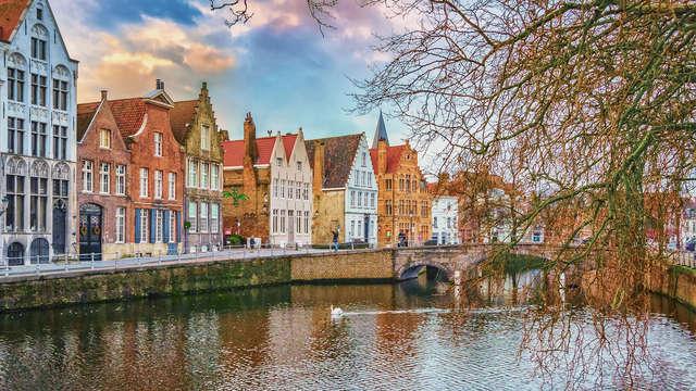 Vertrek op citytrip naar het historische Brugge