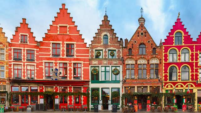 Kerstsfeer in het romantische Brugge