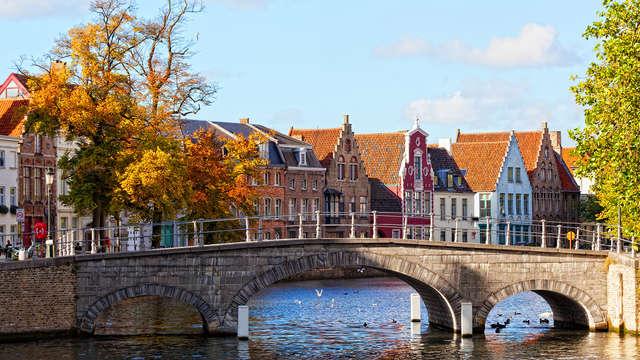 Genieten in het pittoreske Brugge